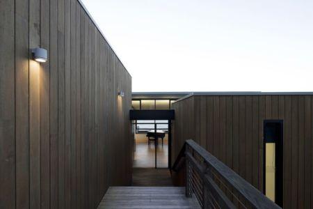 Façade Murale Bois - Surf-Road-House Par Nick Bell D-A - Whale Beach, Australie