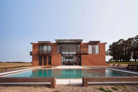 Façade Piscine & Terrasse - Luna-Llena-House Par Candida Tabet - Punta Del Este, Uruguay