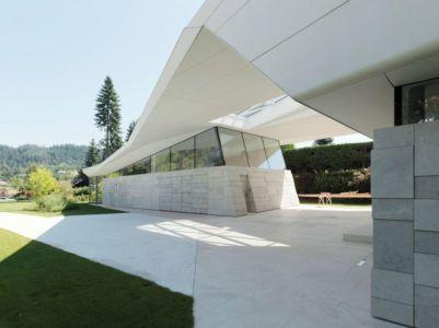 Façade Terrasse - Lake-House-Portschach Par A01 Architects - Carinthie, Autriche