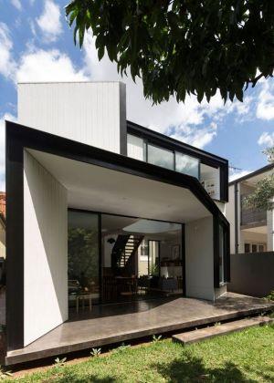 Façade Terrasse & Jardin - Unfurled-House Par Christopher Polly Architect - Sydney, Australie