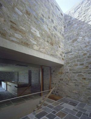 Façade Vitrée Entrée - Building-Brione Par Meuron Romeo - Minusio, Suisse