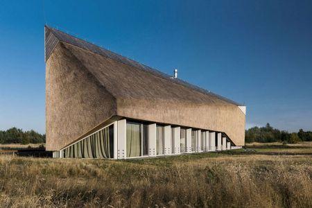 Façade Vitrée & Prairie - Dune-House Par Archispektras - Lettonie