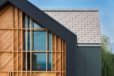 Façade Vitrée & Toiture A Pignon - Family-Villa-XL - Sono-Arhitekti - Slovenie