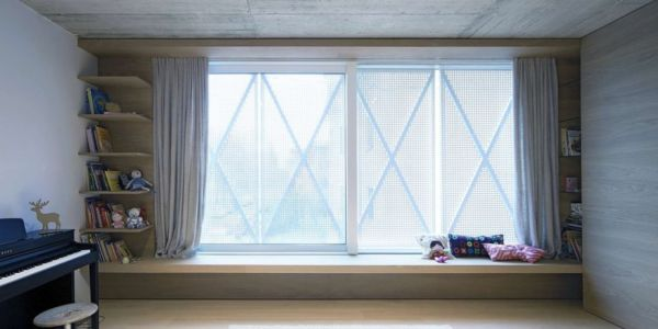 Fenêtre Baie Vitrée - Maison Exclusive par Ofis Architects - Ljubljana, Slovenie