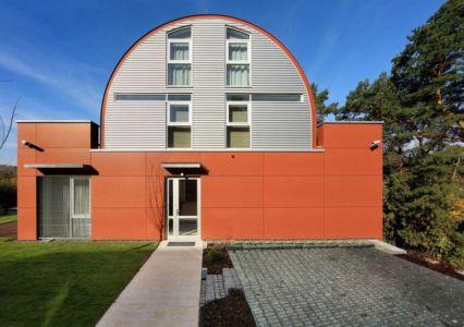 Fenêtres Vitrées - Family Villa Par Fusion Architects - Prague, Republique Tcheque