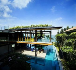 Fish House par Guz Architects -Sentosa Island, Singapour