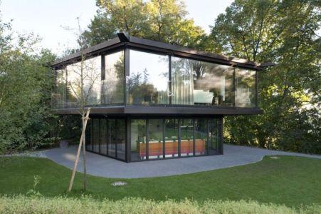 Garden Pavilion par Oliv Brunner Volk Architekten - Suisse