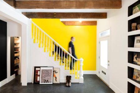 escalier et entrée - Grand Trunk par Mark+Vivi - Montreal, Canada
