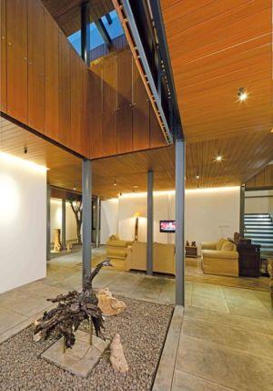 Grand Espace Salon - Akanaka Par RAW Architecture - Jakarta Indonésie