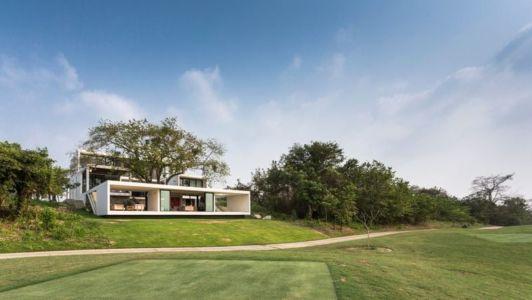 Grande Façade Jardin - Casa-Guazuma Par Alberto-Zavala - Tabasco, Mexique