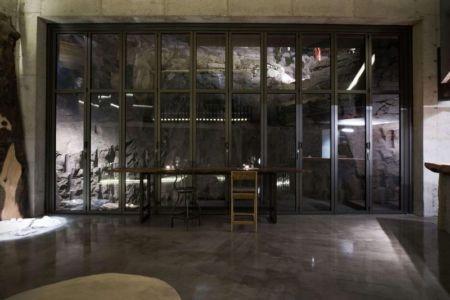 Grande Façade Vitrée Coulissante Salle Séjour - Dayangsanghoi Par Tune Planning - Seoul, Coree Du Sud