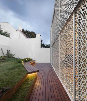 Grille - Restelo-House Par Joao Tiago Aguiar - Lisbonne, Portugal