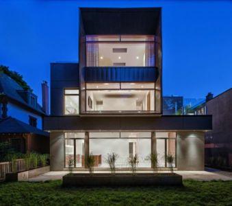 terrasse - Heathdale Residence par TACT Design INC. - Toronto
