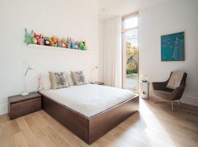 chambre enfant - Heathdale Residence par TACT Design INC. - Toronto
