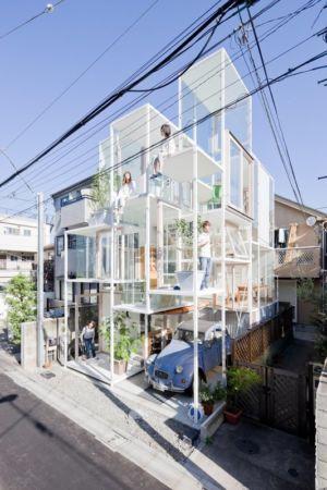 House NA par Sou Fujimoto Architects - Tokyo - Japon - Photo Iwan Baan