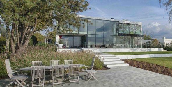 House at a lake par BBSC Architects - Mol, Belgique