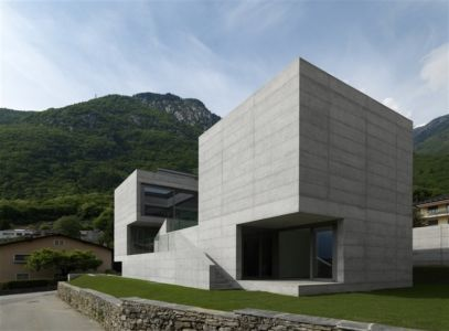 House in Lumino par Davide Macullo Architects - Suisse - + d'infos