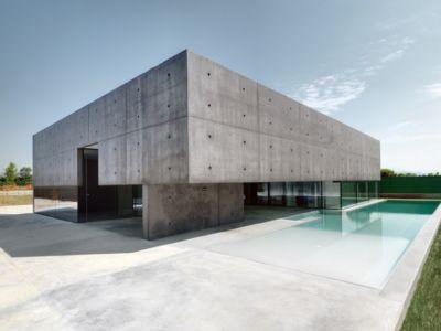 House in Urgnano par Matteo Casari Architetti - Italie - Photo Andrea Martiradonna - + d'infos