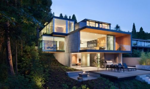 Houzz at a Glance par Splyce Design - Vancouver - Canada - Photo Ivan Hunter