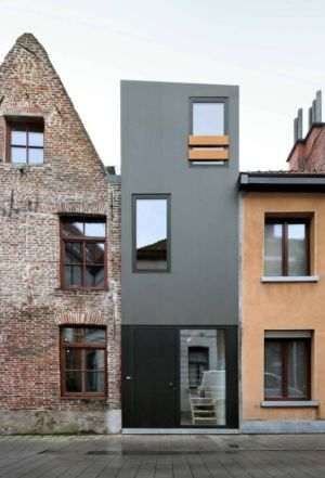 Humble-Homes par Dierendonck Blancke Architecten - Gelukstraat, Belgique