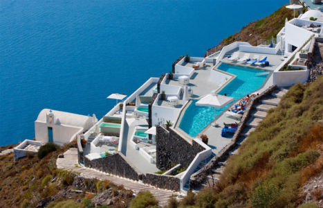 Award-winning Grace Santorini Hotel with Crazy Infinity Pool source
