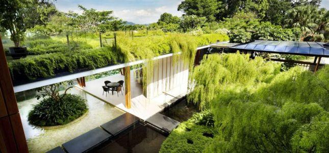 toiture végétalisée - Coral-House par Guz Architects, Singapour