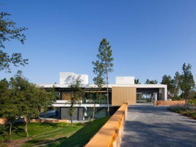 Jardin & Voie Accès - la-vinya par Lagula Arquitectes, Malavella, Espagne