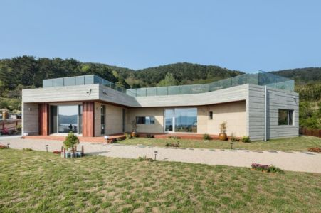 Jardin - House-Dongmang Par 2m2 Architects - Geoje, Coree Du Sud