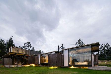 Jardin - RDP House Par Daniel Moreno Flores - Pichincha, Equateur