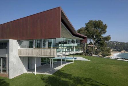 Jardin & Vue Mer - Summer-Residence Par Fuses Viader Architects - Calonge, Espagne