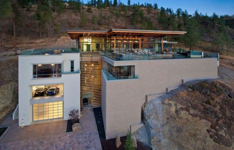 Kelowna-House par David Tyrell Architecture - Canada - source
