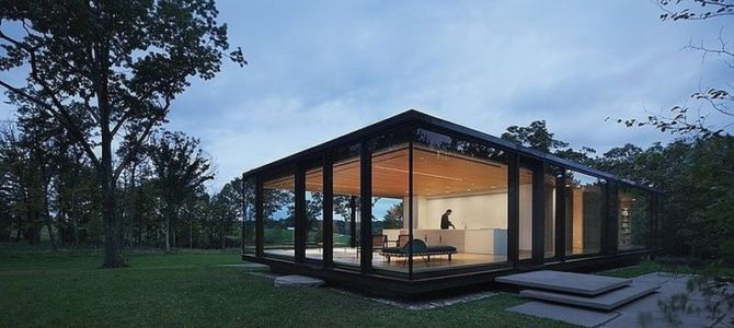 LM Guest House par Desai Chia Architecture PC - Etat New York - USA
