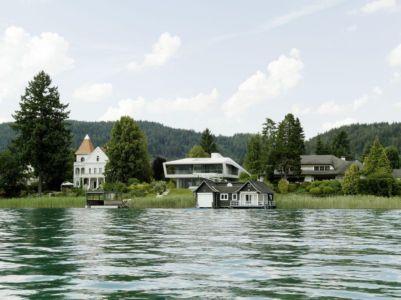 Lac - Lake-House-Portschach Par A01 Architects - Carinthie, Autriche