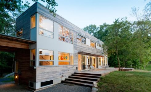 Lake Iosco House par 4 Architecture - New York, Usa