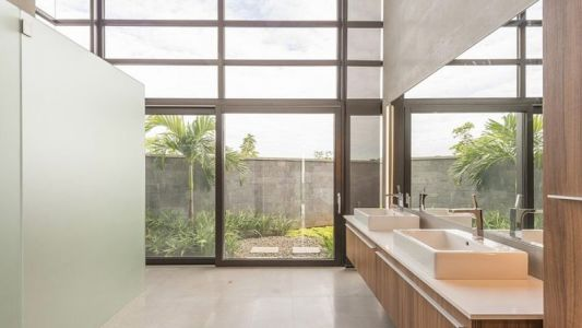 Lavabo - Casa Sea La Vie Par Sarco Architects, Costa Rica