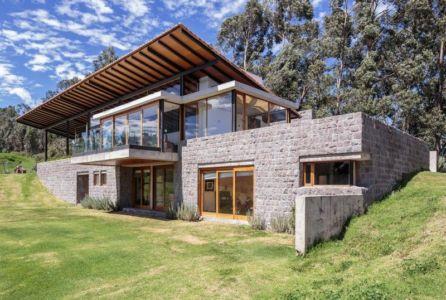 Los Chillos House par Diez + Muller Arquitectos - los Chillos, Equateur - Photo Sebastían Crespo Camacho