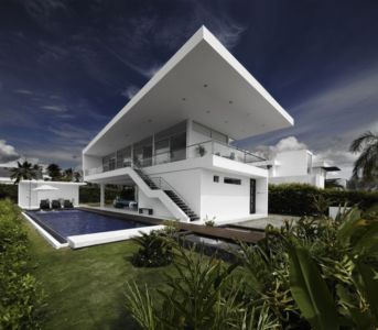 Magnifique maison contemporaine Casa Penon par Giovanni A Moreno Espinosa – Girardot – Colombie - Photos Andres Valbuena