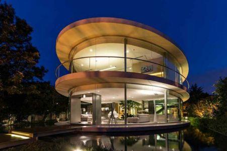 Magnifique maison en ellipse par VS Arquitectos – Buenos Aires – Argentine