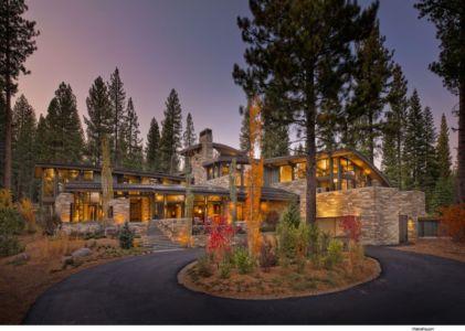 Maison & Petit Jardin de nuit - Valhalla Résidence par RKD Architects - Californie, USA