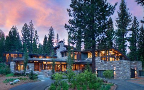 Atypique maison en bois et pierre en californie aux usa - Residence inversee studios architecture en californie ...