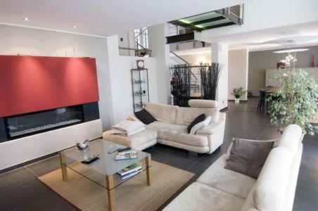 salon - Maison S par Thierry Noben - Nospelt Luxembourg