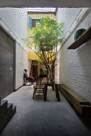 cour intérieure - Maison Saigon par a21studio - Vietnam