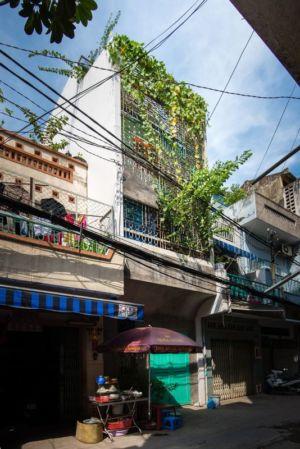 façade rue - Maison Saigon par a21studio - Vietnam