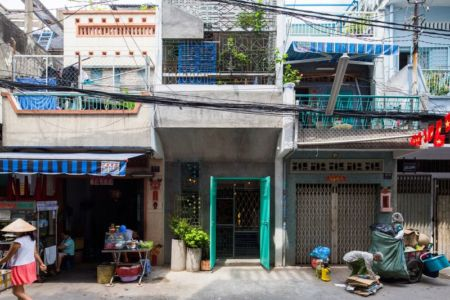 entrée - Maison Saigon par a21studio - Vietnam