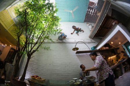 filet cour intérieure - Maison Saigon par a21studio - Vietnam