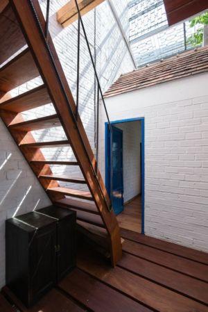 escalier extérieur - Maison Saigon par a21studio - Vietnam