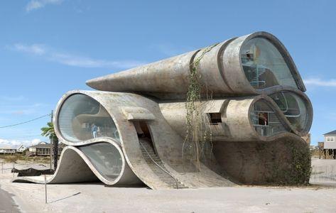 Maison atypique dauphin island II par Dionisio-gonzalez-architecture - Giner - Espagne