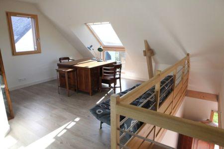 Mezzanine - Maison bois béton par Patrice Bideau - Atypique - France