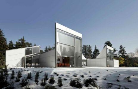 Maison contemporaine atypique AA house par OAB - Barcelone -Espagne