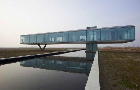 Maison contemporaine atypique Villa Kogelhof par Paul de Ruiter - Kamperland - Pays-Bas